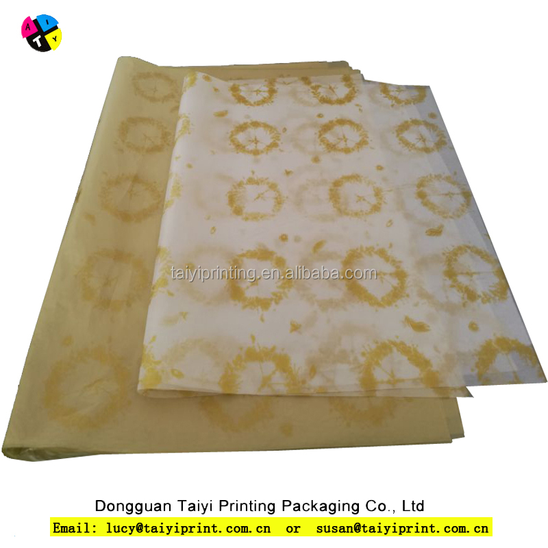 Wholesale custom logo printing tissue paper for shirt or dress packaging