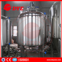 500L stainless steel steam heating mash tun