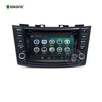 Factory Cheap Price Multimedia Touch Screen Radio Car DVD Player for SUZUKI SWIFT with GPS