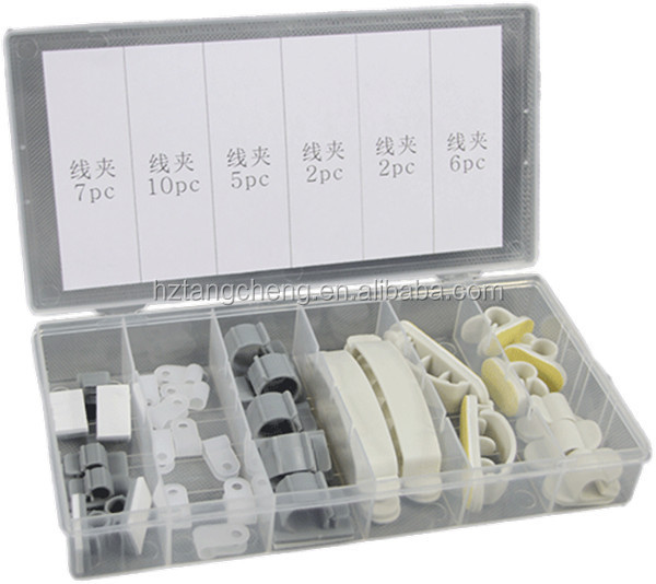 TC 2016 Factory Price Hot Sale 32PC Cable /Wire Manager/Tie Assortment