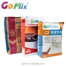 Alibaba highly deformable flex waterproofing tile adhesive