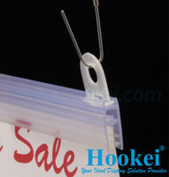 Ceiling Hanging Poster Rails and Hook