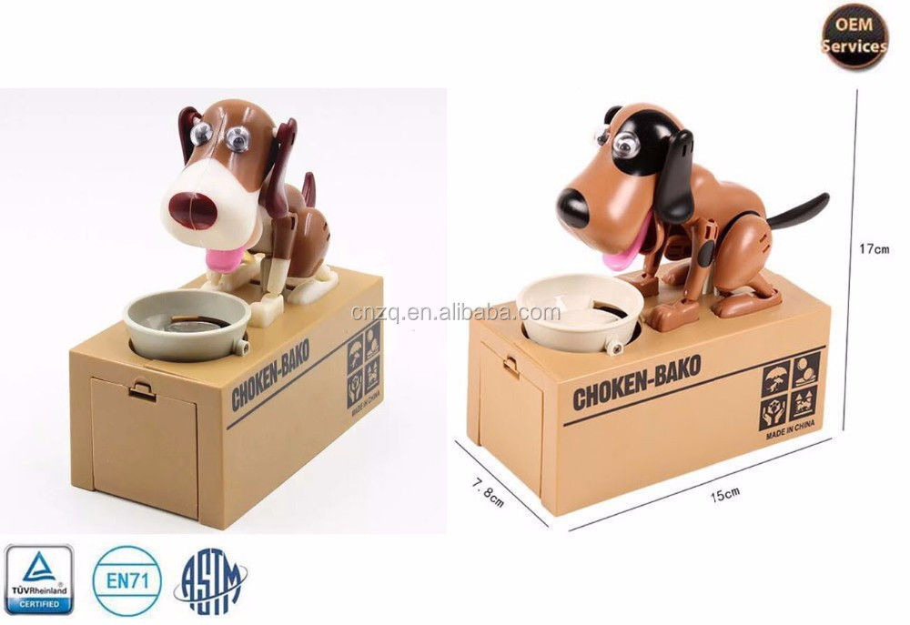 Electronic Eating money Dog Money Box,Piggy Bank,Coin Bank