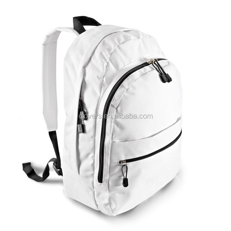 Guangzhou handmade whiteshoulder belts bag backpack