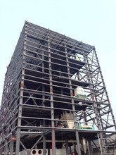 cheap steel structure building for factory/living
