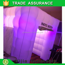 wedding used 16 colors changing inflatable the photo booth for parties