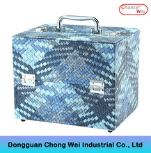 Lowest price fashionable jewelry beauty professional carrying make up train case