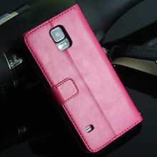 cheap wallet leather case for samsung galaxy s5 i9600 cover, for s5 wallet case, china supplier