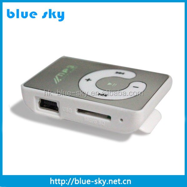 High quality sd card reader mp3 players with long battery life