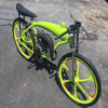 electric bike 2017 Cheap chopper bicycle, / Angle Fire Slant Head Bike Motor Kit/CNC bike engine parts , ZEDA-Angel Bike I