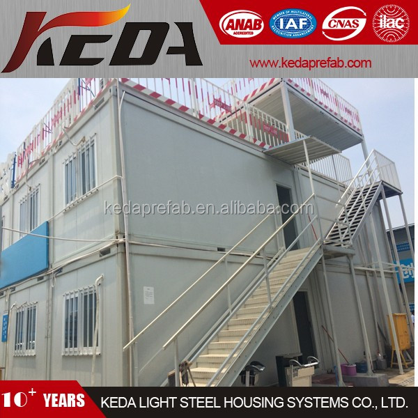 Flat Pack Container House Porta Cabin As Site Office Building