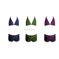2016 newest girls swimwear kids swimwear triangle bikini