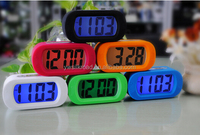 2016 new style Newlemo Clock movement silicone clock smart flip Alarm Clock