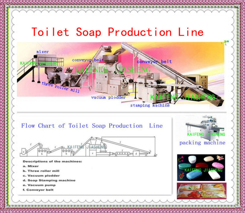 Toilet Soap Making Machine / Toilet Soap Production Line / Toilet Soap Finishing Line/Soap Manufacturing Plant,500KG/H