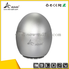 Egg shape audio vibro speaker Cube Bluetooth Speaker