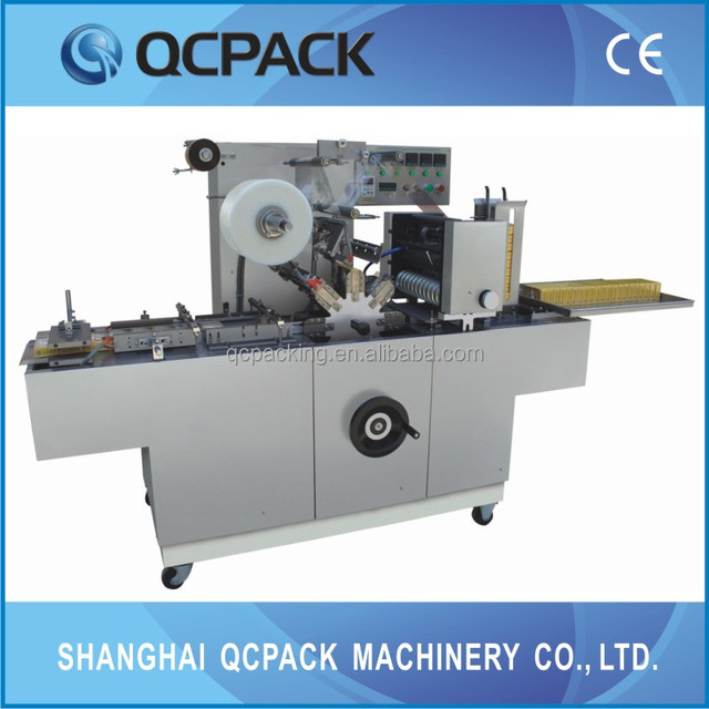 Automatic CD Overwrapping Machine From Shanghai Manufacturer