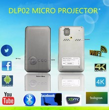 2016 Hot DLP Home theater digital android mini projectors DLP02 1g 16g Smart Pocket Micro Projector