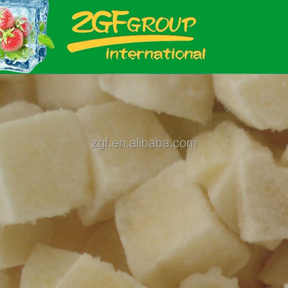 IQF Frozen fresh powder flavor potato chips in good quality in bulk