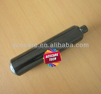 Black lacquer CO2 gas cylinder type: 0.5L