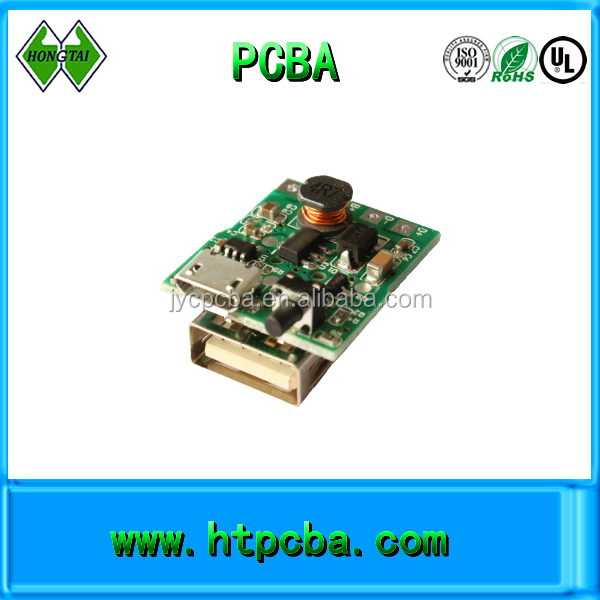 electric flashlight power bank pcba electronic custom made pcb circuit board