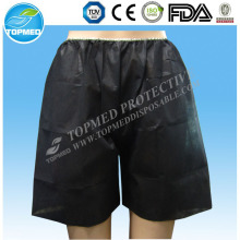 100% Virgin Nonwoven men's boxers wholesale, disposable shorts/ underwear Plus Size
