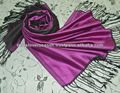 Latest Silk Scarf colours in 2 sided shawl