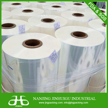 printed Polyolefin pof shrink film packing frozen lamb beef meat