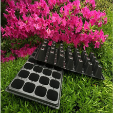 32 Plastic nursery tray&lids plastic nursery seed plug trays for propagation