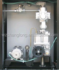 Fuel dispenser with single nozzle and single pump