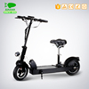 "portable 10"" wheel hub motor electric scooter"