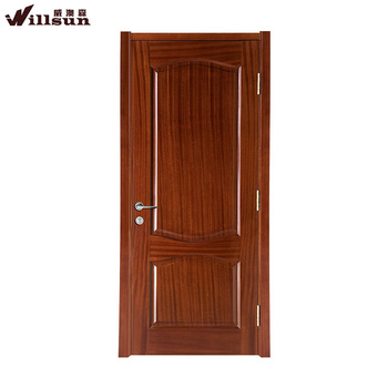 Flat sapele solid core wood doors american simple style for Flat solid wood door