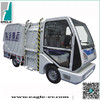 Electric garbage collection truck, Garbage truck with side loading,