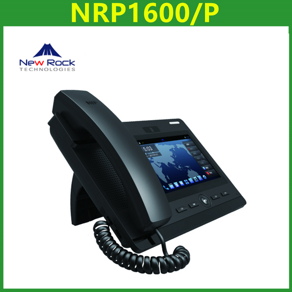 New Rock Phone NRP1600/P Supports 6 SIP Servers and Backup SIP Proxy Servers