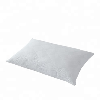 High Quality Feather Pillow with Quilted Pillow Cover