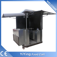 china manufacturer Shanghai Yiying factory supplier YY-FS175R micro mobile catering kitchen van