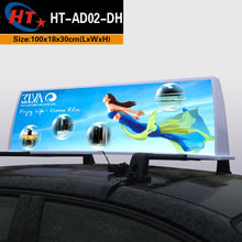 SENDOVA taxi dome advertising cab advert box led signal