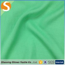 Green 97%rayon 3%spandex yarn dyed crepe fabric