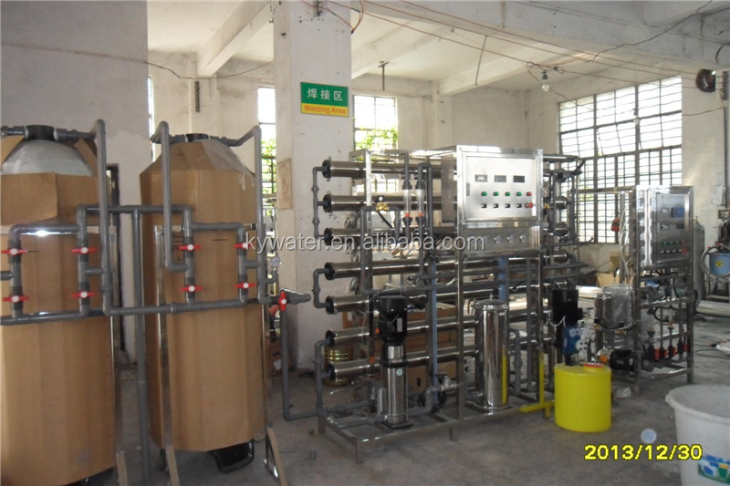 1500L/H RO system plus EDI laboratory industrial water distillers