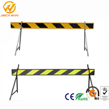 A Shape Sign Stand Engineer Grade Reflective Sheeting Plastic Barrier Board