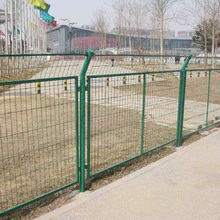 high quality China supplier fence netting woven flat wire mesh fence
