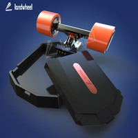Most popular manufacture dual hub motor 2200w electric longboard skateboard with swappable battery