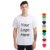 100% Cotton Jersey Custom Printing T-shirt Brand Logo O neck V neck T-shirt