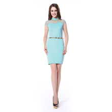 China Imported women office Fashion uniform dress