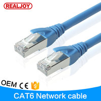 RJC7004 1meter 3 feet Approved Test High Speed Network Lan Ehternet cat6 6a Cable