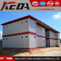 Prefabricated Office Building Flatpack Container House Living Home for Sale 372