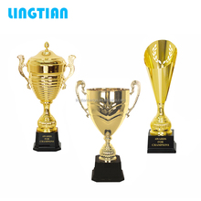 LINGTIAN Crafts Elegantly Designed Unique Custom Luxury Metal Trophy/ Trophy Cup