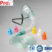 PRO-MED High Quality Medical Oxygen Mask Adjustable Venturi Mask