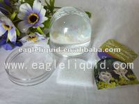 promotional customized image acrylic photo frame water globe