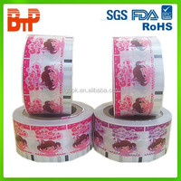 gravure printing and laminated plastic flexible packaging plastic film roll/roll film