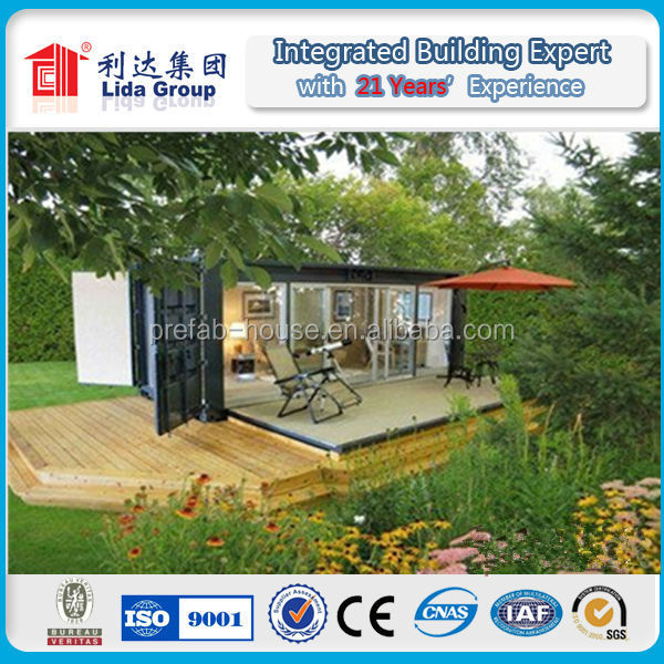 Cheap Flexible Prefab Residential Modular Container Houses made in china container home